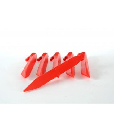 Plastpløkker 22cm