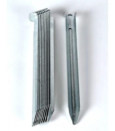 Stålpløkker 18cm