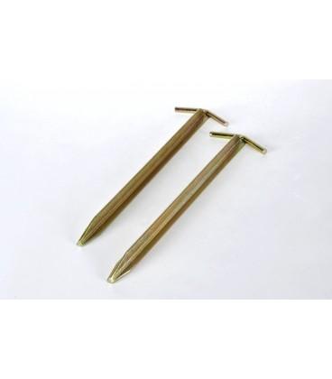 T-stålpløkker 30 cm