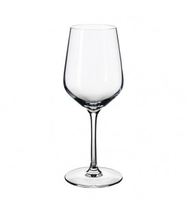 Flot og elegant hvidvinsglas