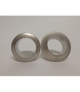 Metal ringe til trygknap