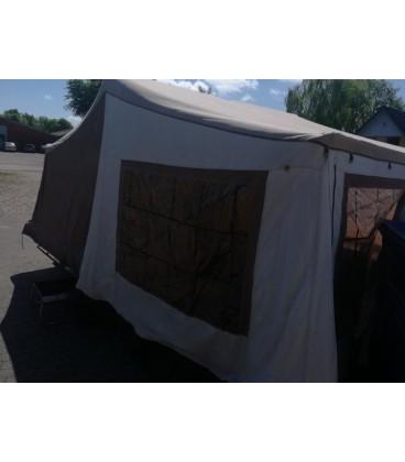 Camp let. Festivansvogn