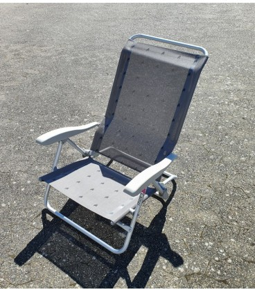 6 Pos. strand stol