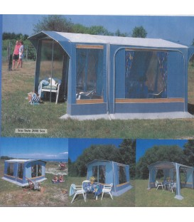 Villa telt Trio Twin 2000